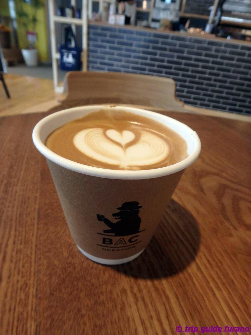 BARISTART COFFEE FURANO バリスタートコーヒーフラノ ソフトクリーム カフェラテ コーヒー カフェ 北海道ミルク