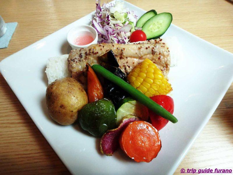 ふらの 上富良野 カントリーレストラン シットココ 野菜 美味しい ロケーション