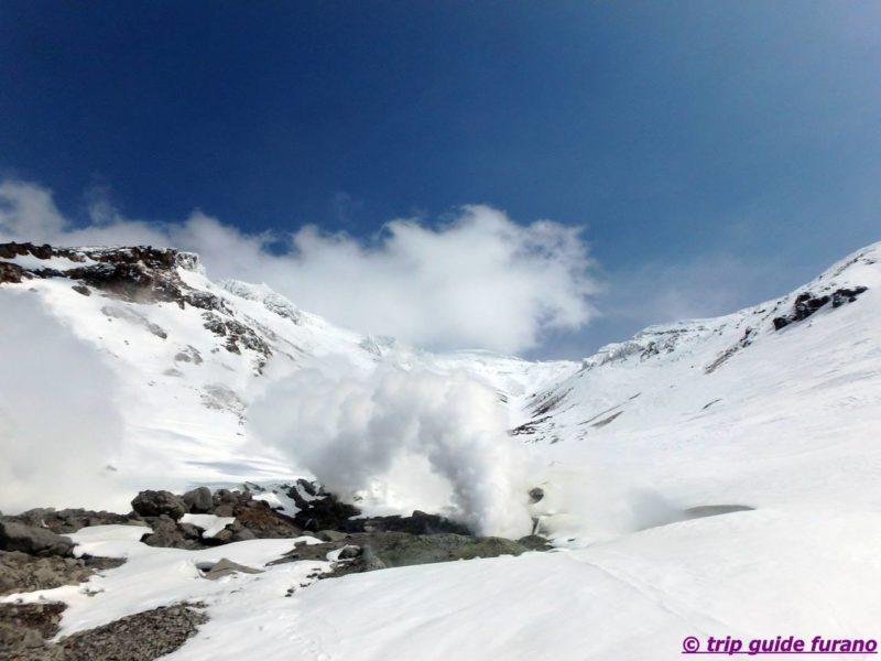 2020 4月 春 旭岳 富良野 おすすめ 観光 春スキー スノーシュー ビジターセンター ロープウェイ